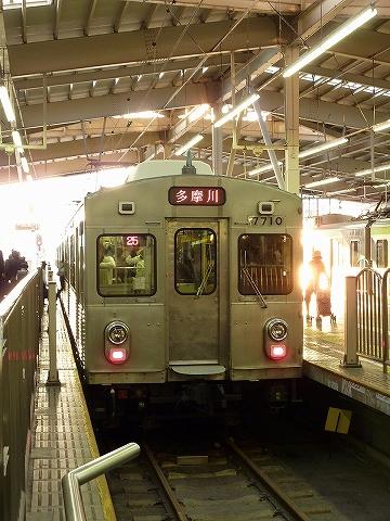 東急7700系@蒲田'12.10.22