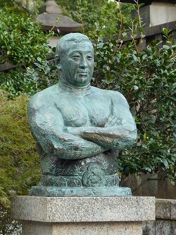 力道山銅像@池上本門寺'12.10.22