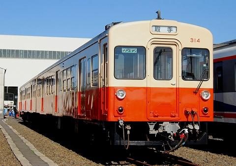 関鉄キハ310形@水海道車両基地'12.11.3