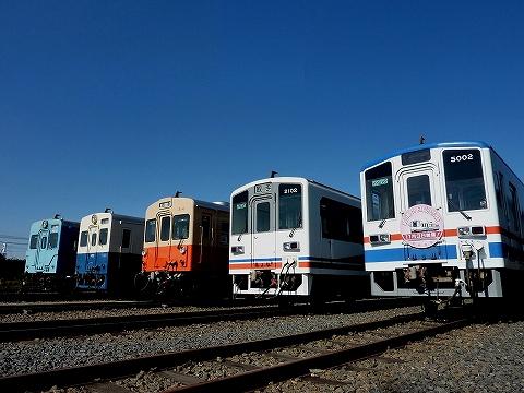 車両展示@水海道車両基地'12.11.3