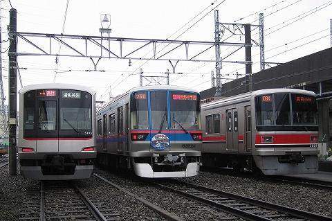都営6300形&東急3000系@志村車両検修所'07.11.10