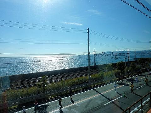車窓@須磨浦公園'12.11.25