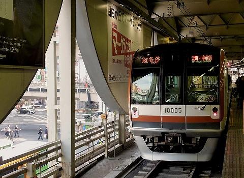 東京メトロ10000系@渋谷'12.12.18