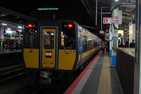 特急スーパーおき4号@鳥取'12.11.25