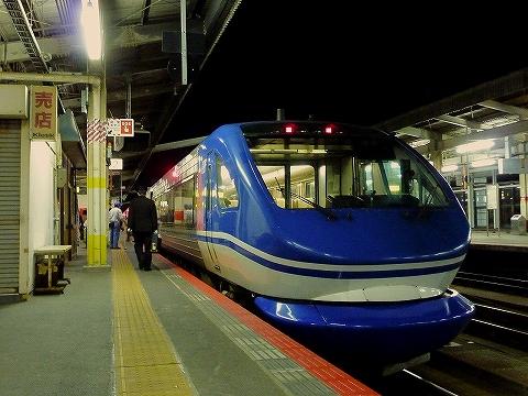 特急スーパーはくと9号@鳥取'12.11.25