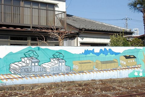 デキ壁画@南蛇井'12.12.23