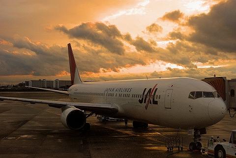 JLボーイング767-300@大阪国際空港'12.11.26