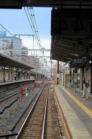 浦和京浜東北線ホーム'08.4