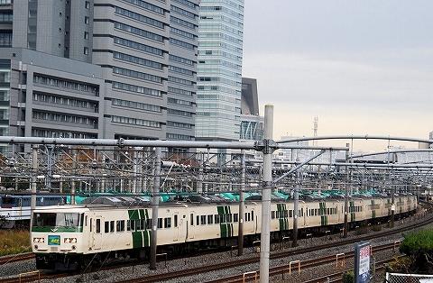 特急あかぎ2号@さいたま新都心'12.11.28