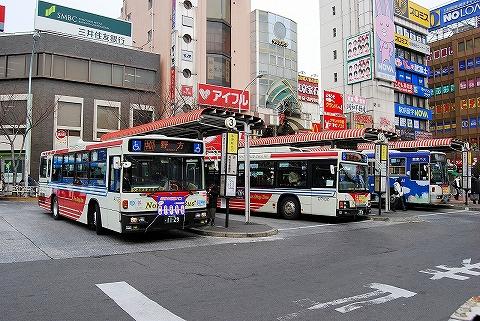 関東バス@中野駅前'07.12.25
