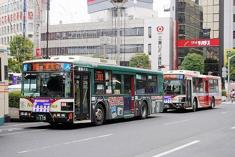 関東バス@吉祥寺駅前'07.12.25