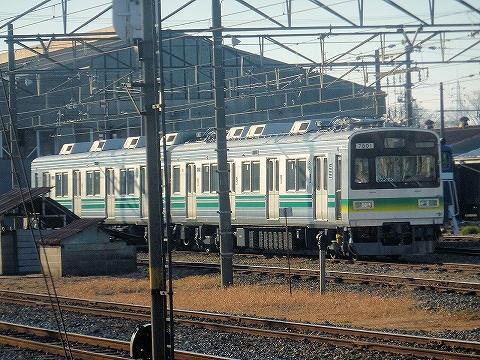 秩父7800系@広瀬川原車両基地'13.2.10