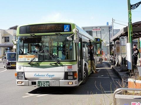 国際興業バス@岩槻駅前'13.2.24