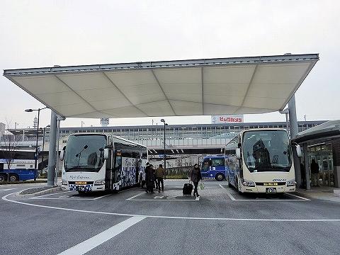 両備バス@岡山駅西口'13.2.22