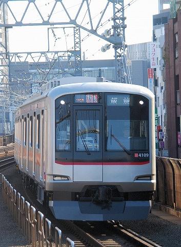 東急4000系@新丸子'13.3.16