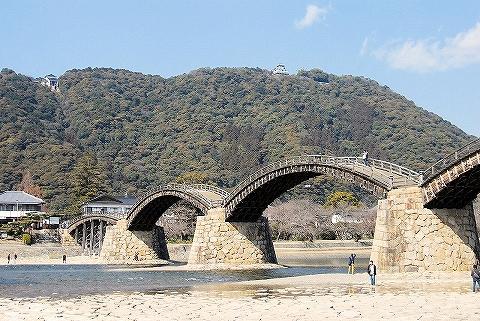 錦帯橋'13.2.23