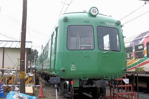 旧松本電鉄5000系@新村'13.3.20