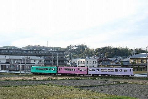 近鉄260系@西日野'13.4.5-1