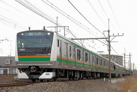 E233系@蓮田'13.4.20