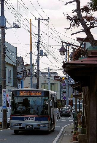 茨城交通バス@沼屋前'13.4.27