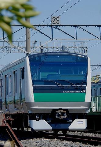 E233系@川越車両センター'13.4.28