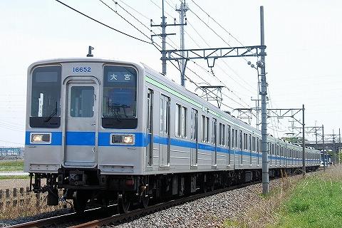 東武10000系@藤の牛島'13.4.29-1