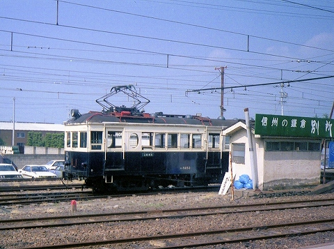 上田モハ5250型@上田'85.8