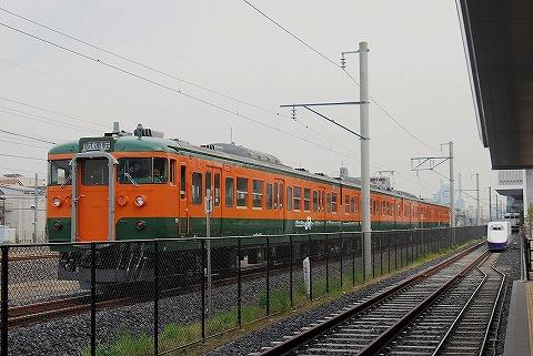 115系@鉄道博物館'13.5.10