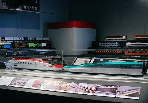 E5系&E6系模型@鉄道博物館'13.5.10