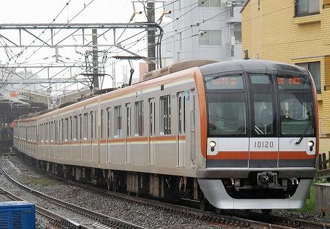 東京メトロ10000系@自由が丘'13.5.20