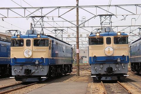 EF65-1105&EF65-1106@田端運転所'13.6.1