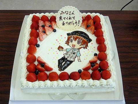 バースデーケーキ@栗橋みなみ誕生祭'13.6.9