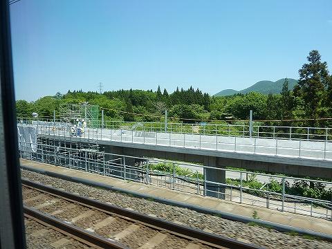 津軽海峡線車窓'13.6.7