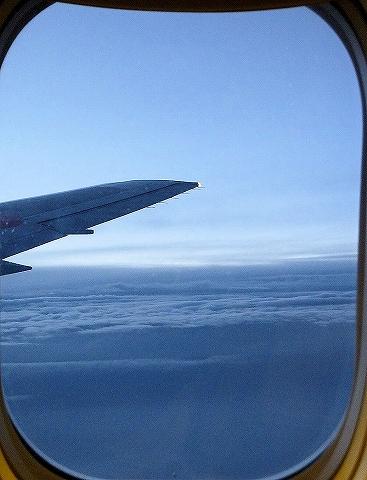 雲の上の景色@JL751便'13.7.14