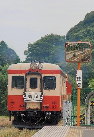 いすみキハ52形@城見ヶ丘'13.7.20