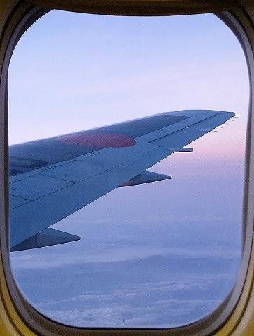 上空の様子@JL752便'13.7.17
