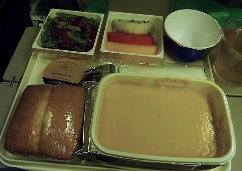 機内食@JL752便'13.7.17