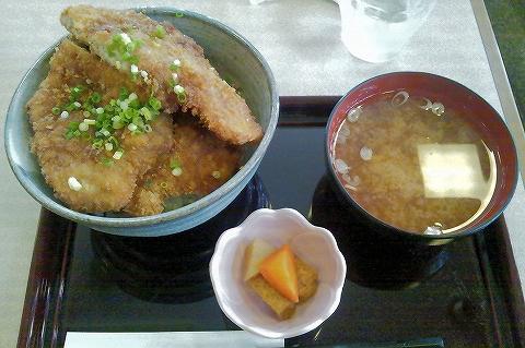 わらじカツ丼@ごはん処ぴっかり'13.8.31