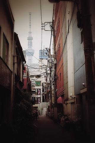 東京スカイツリー@浅草'13.9.6