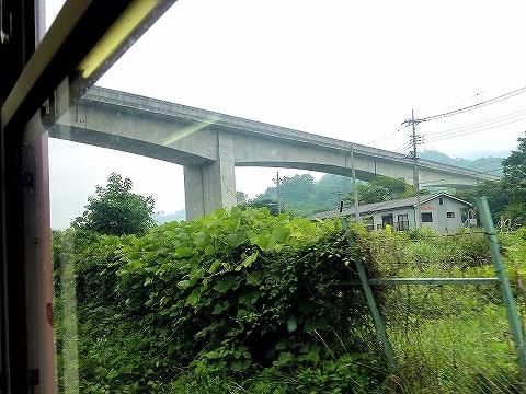 リニア実験線@富士急車内'11.7.2