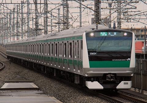 E233系@与野本町'13.9.8