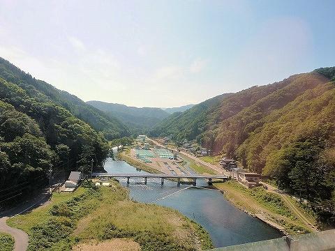 安家川橋梁からの眺め'13.9.20