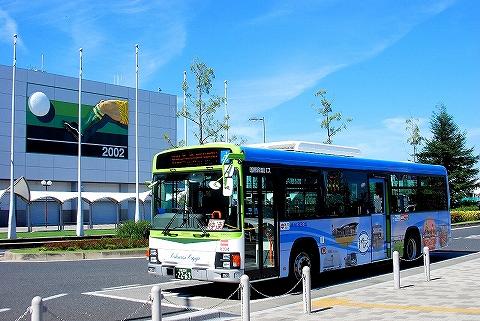 国際興業バス@浦和美園駅'13.9.28