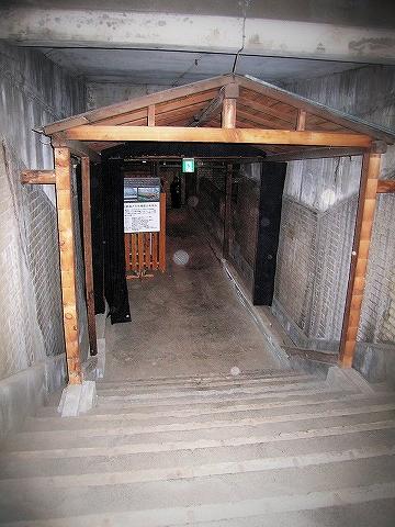 旧万世橋階段'06.1.14