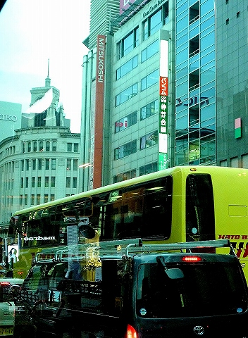 銀座界隈@都バス車内'13.10.29