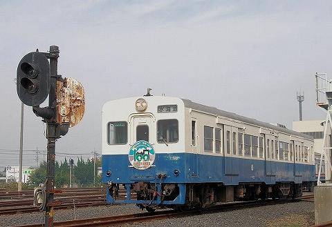 関東鉄道キハ100形@水海道車両基地'13.11.3