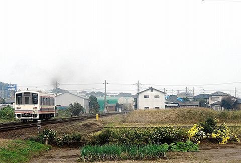 関東鉄道キハ2400形@水海道'13.11.3