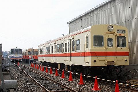関東鉄道キハ350形@水海道車両基地'13.11.3