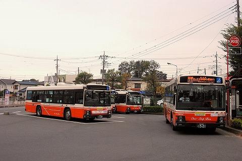 東武バス@東新井団地'13.11.9