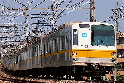 東京メトロ7000系@西所沢'09.8